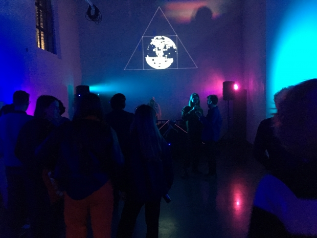 Discoteca Clandestina: an Eschatological Disco Survival Strategy Plan for The End Times, Kunsthal Gent, 25-26 May 2019, conceived by Paolo Danese and Algis Kaveckis, featuring Alessandro Parisi; curated by Anna Stoppa ahead of Harbinger I: First Signs,